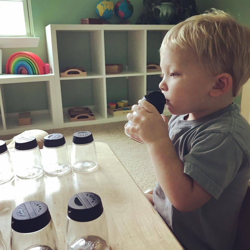 Smelling jars